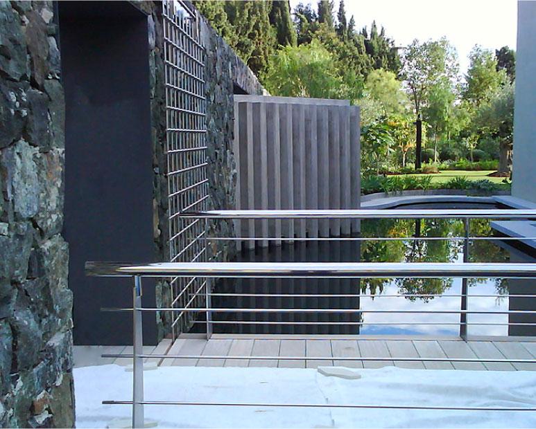 Espejos de agua - Aplicación sobre estructura o plancha