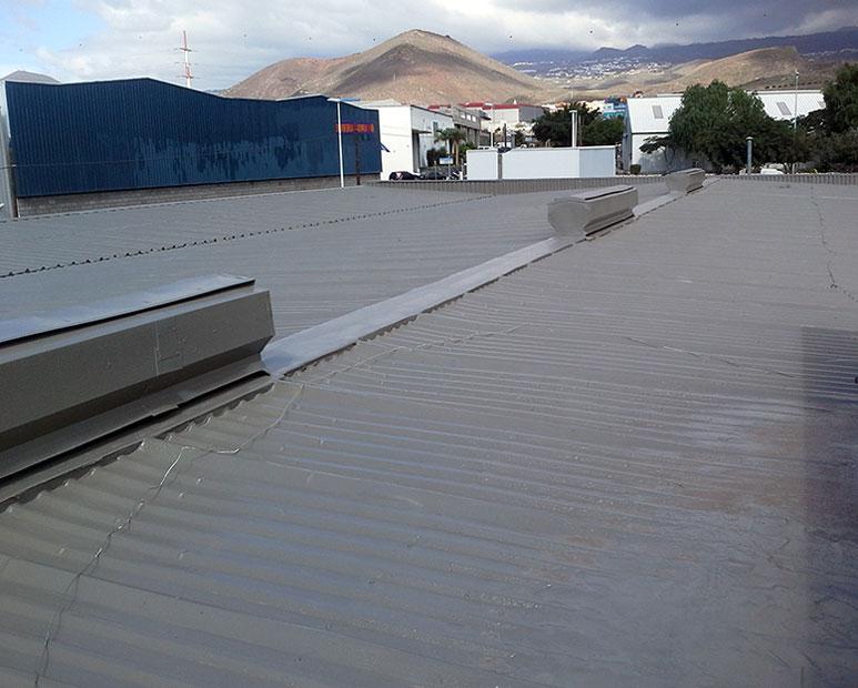 Techos Galvanizados - Aplicación sobre estructura, cemento y concreto